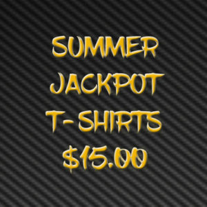 Purchase your extra Summer Jackpot T-shirts here…